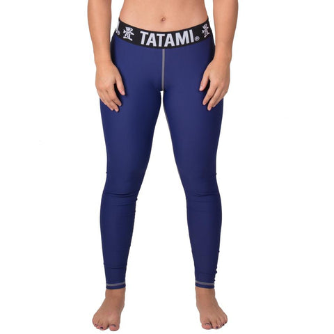 Ladies Navy Minimal Spats