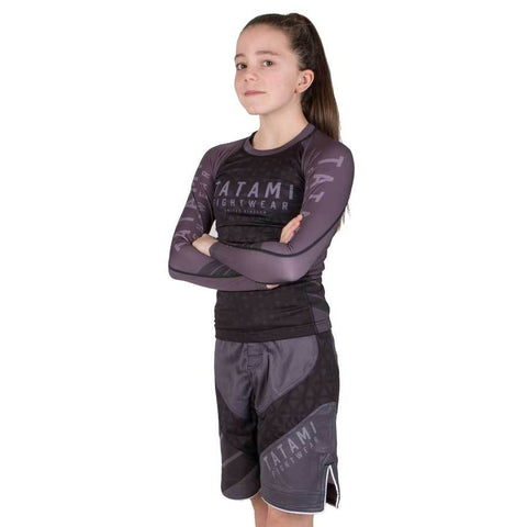Kids Grey Prism Dynamic Fit Shorts