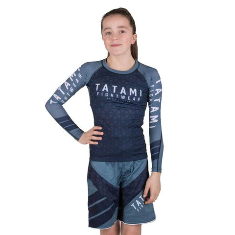 Kids Navy Prism Dynamic Fit Shorts