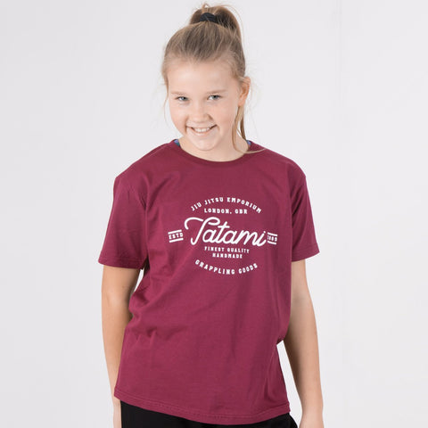 Kids Original Burgundy T-Shirt