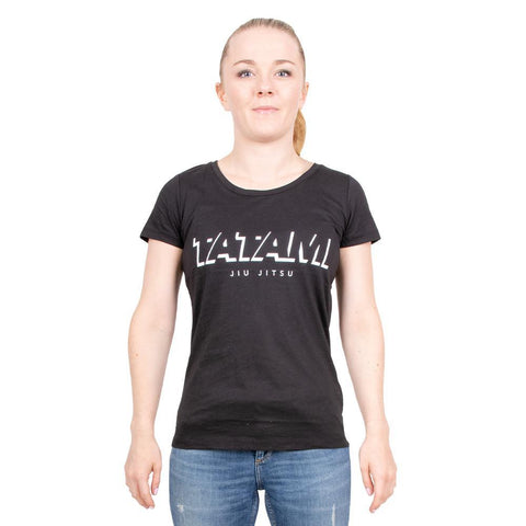 Ladies Shadow T-Shirt - Black