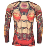 Kids Mech Warrior Rash Guard