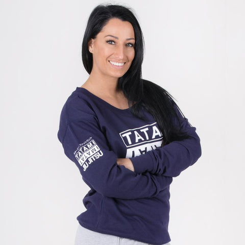 Ladies White Label Sweatshirt Navy
