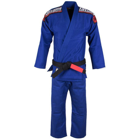 Kids Nova Mk4 BJJ Gi Blue - Inc FREE White Belt