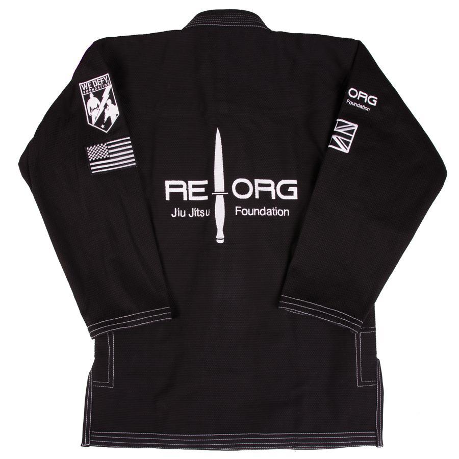 Tatami x REORG Black Ops Gi Jacket Back