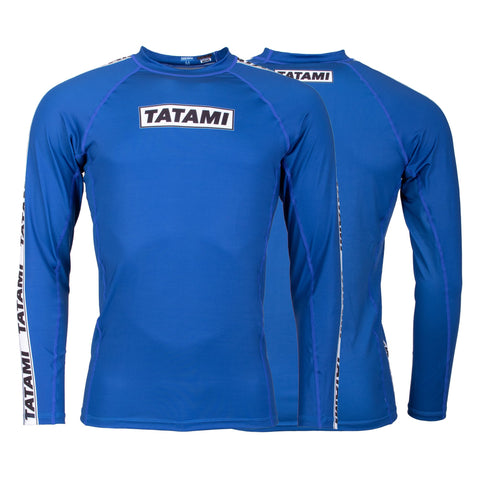 Dweller Long Sleeve Rash Guard - Navy