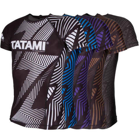 IBJJF ShortSleeve Rank Rash Guard