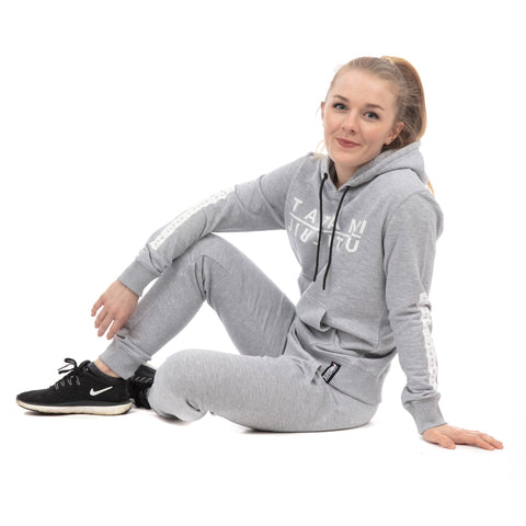 Ladies Rival Tracksuit (Hoodie and Joggers) - Grey