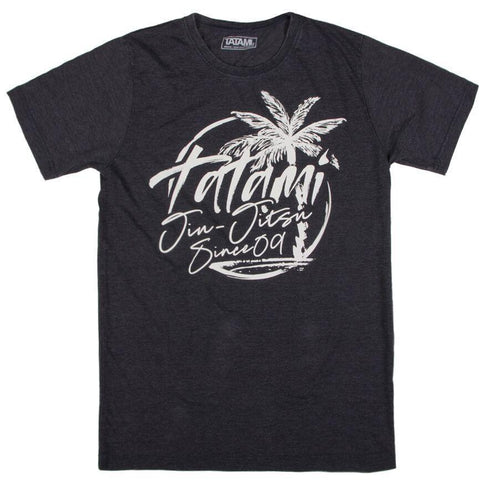 Palm Tree Washed Navy T-Shirt
