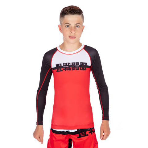 Kids Super Long Sleeve Rash Guard