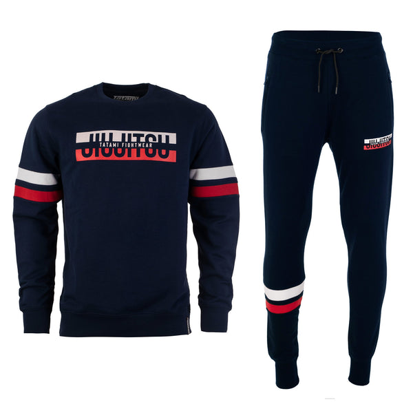 Super Tracksuit (Sweater and Joggers) - Navy