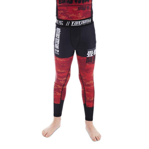 Kids Essential Camo Spats - Red