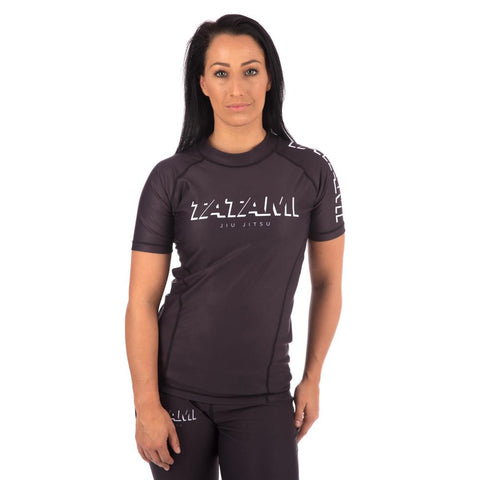 Ladies Shadow Short Sleeve Rash Guard