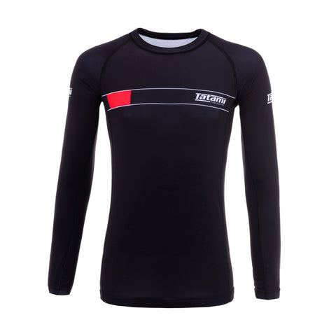 IBJJF 2020 Ranked Long Sleeve Rash Guard - Black