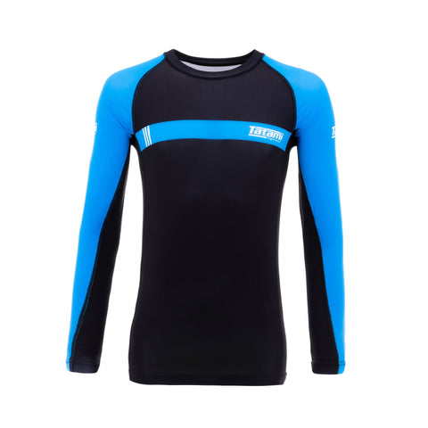 IBJJF 2020 Ranked Long Sleeve Rash Guard - Blue