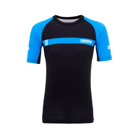 IBJJF 2020 Ranked Short Sleeve Rash Guard - Blue