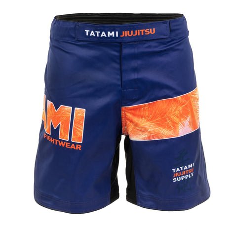 Tropic Navy Grappling Shorts