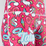 Ladies Unicorn Print Leggings