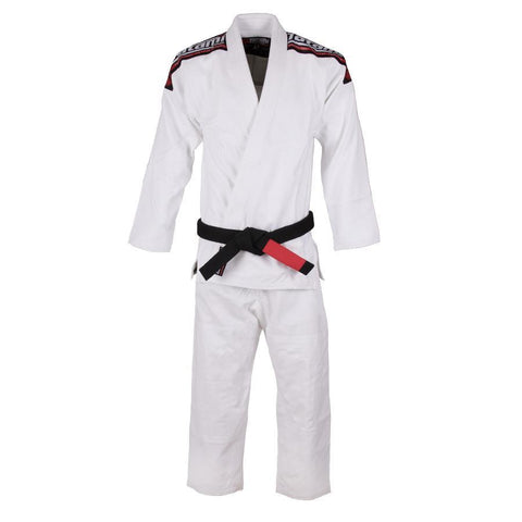 Kids Nova Mk4 BJJ Gi White - Inc FREE White Belt