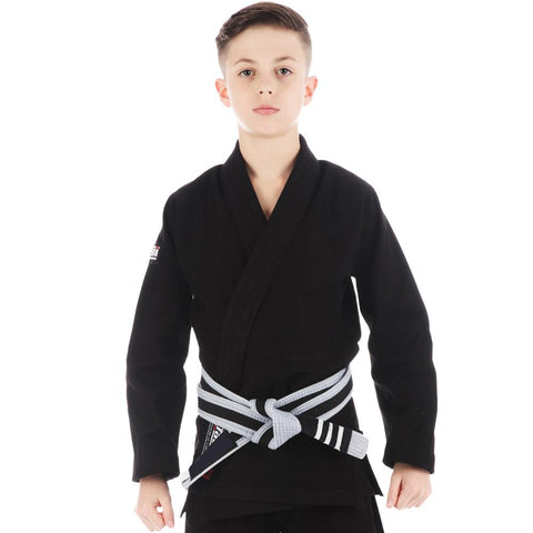 Kids Roots Jiu Jitsu Gi - Black