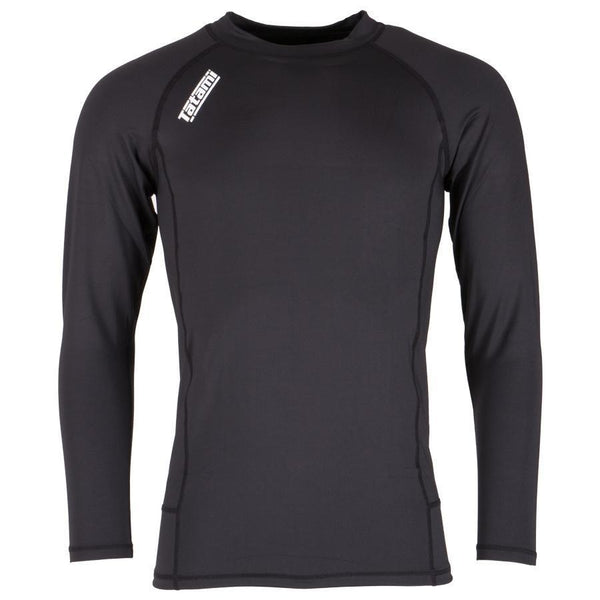 Tatami Essentials Black Nova Basic Rash Guard