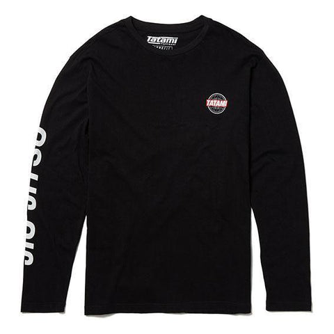 Black Global Jiu Jitsu Long Sleeve T-Shirt