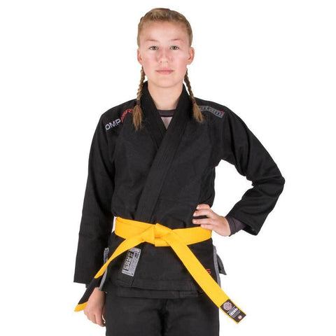 Kids Comp SRS Lightweight BJJ Gi - Black