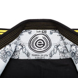Kids Black & Yellow Estilo 5.0 Premium Jiu-Jitsu Gi