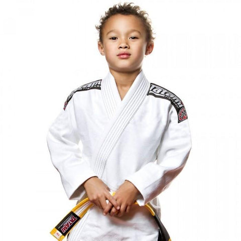 Kids White Nova 2015 BJJ Gi