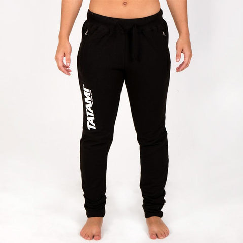 Ladies Black Track Pants