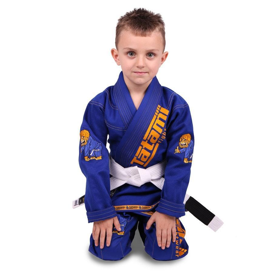 NEW Meerkatsu Kids Animal Gi - Royal Blue