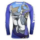 Omoplatapus Long Sleeve Rash Guard