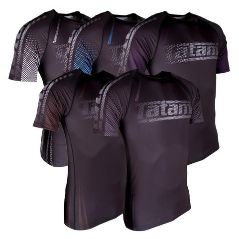 New IBJJF Rank Short Sleeve Rash Guard