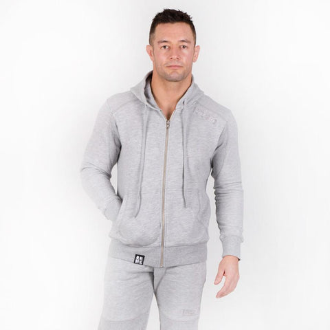 Athletic Grey Tracksuit (Hoodie and Joggers)