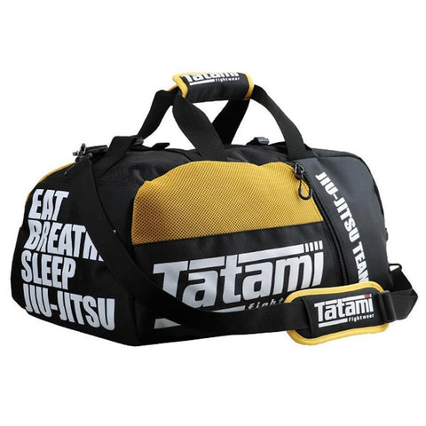 Yellow Jiu Jitsu Gear Bag