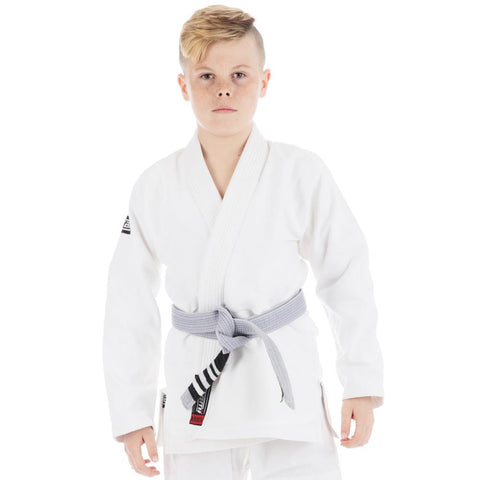 Kids Roots Jiu Jitsu Gi - White