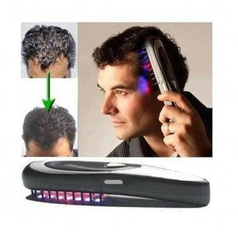 Low dose laser therapy for hair loss