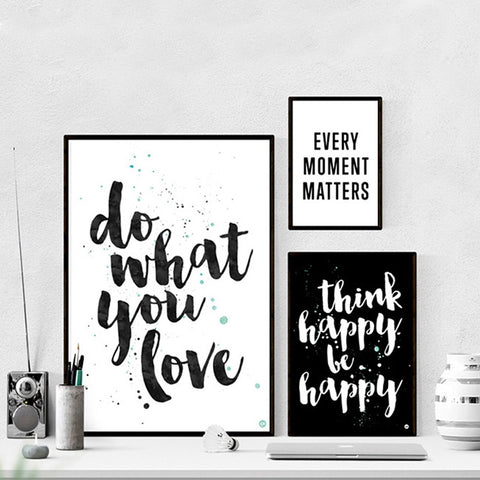 Happy Love Collection - Canvas Wall Art
