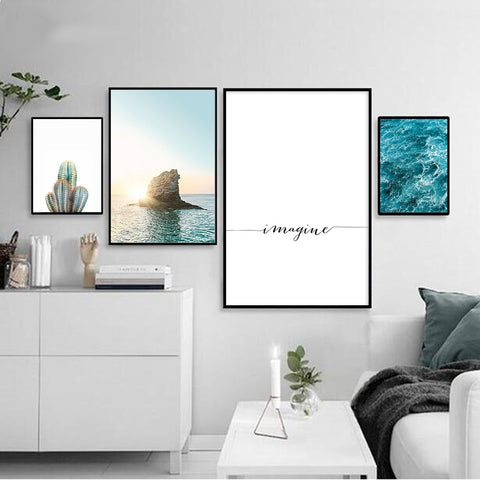 Imagine Collection - Canvas Wall Art