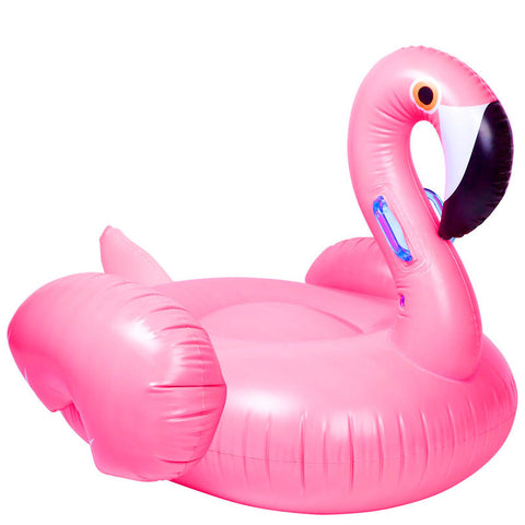 Giant Pink Flamingo Inflatable Tube