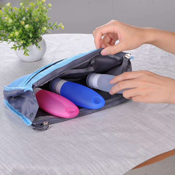 Refillable Soft Silicone Travel Bottles Individual