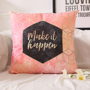 Make it happen - Decorative Cushion Cover