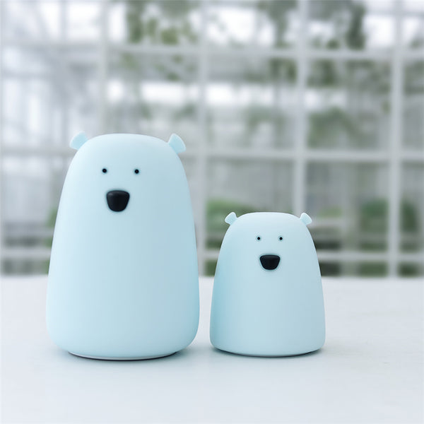 Baby Boy Nursery Polar Bear Night Light