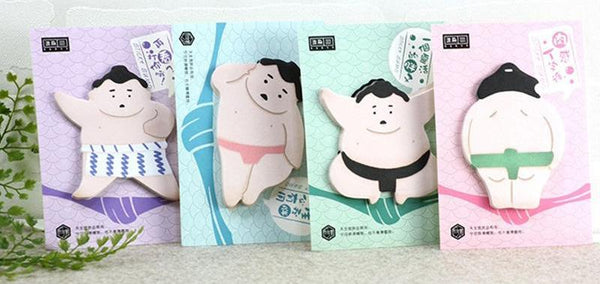 Japanese Sumo Sticky Note Pad
