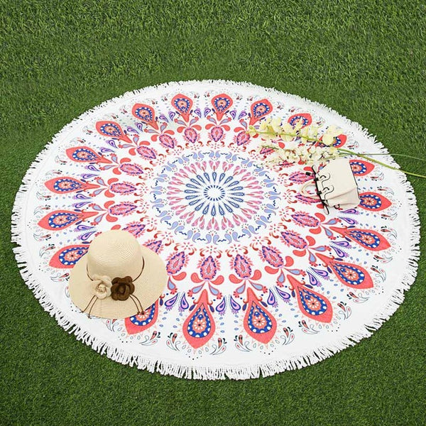 Round Beach Towels Collection # 1