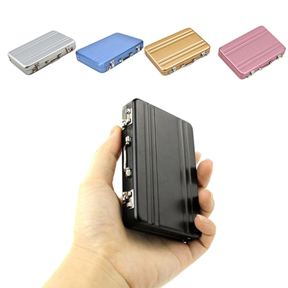Mini Suitcase Business Card Holder – Pinknique LLC