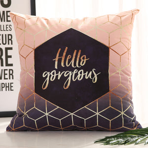 Hello Gorgeous - Decorative Cushion Cover