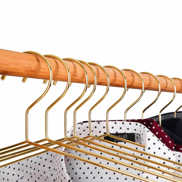 Gold Wire Clothes Hangers