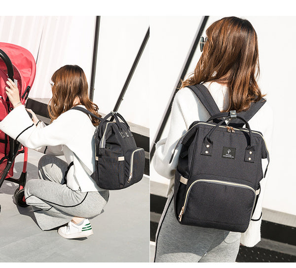 Baby Diaper Backpack - Style 1