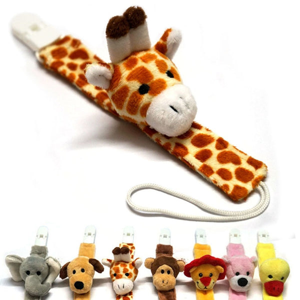 Cute Animals Baby Pacifier Clips